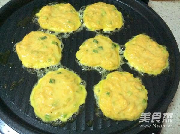 南瓜鸡蛋饼的简单做法