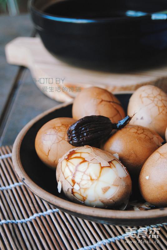 五香茶叶蛋成品图