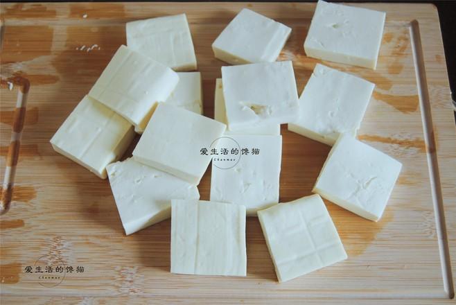 剁椒虾皮蒸豆腐的做法图解