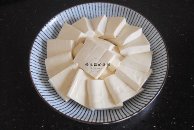 剁椒虾皮蒸豆腐的家常做法