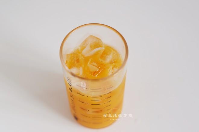 芒果香梨奶盖怎么吃