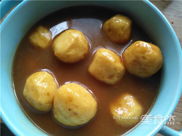 快手版咖喱鱼蛋怎么吃