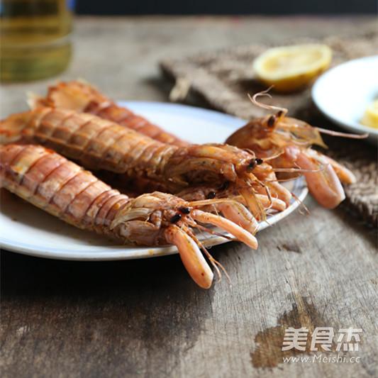 麻辣皮皮虾成品图