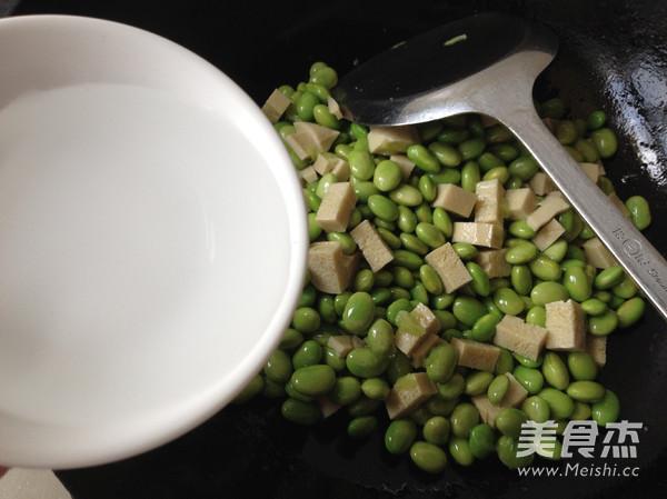 毛豆米炒豆丁怎么煮