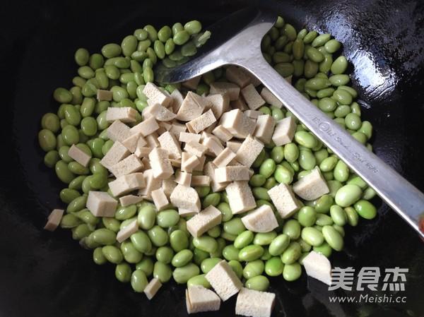 毛豆米炒豆丁怎么做