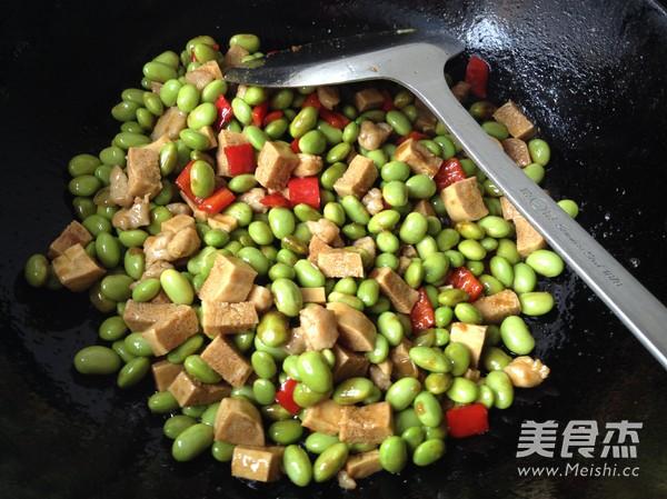 毛豆米炒豆丁怎样煸