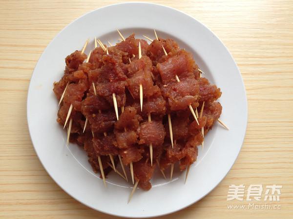香辣牙签肉的简单做法
