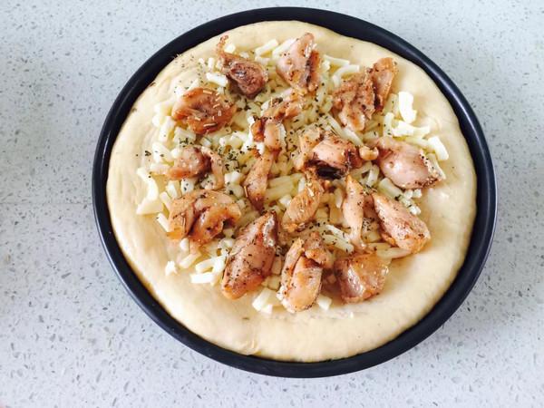 黑椒鸡腿披萨怎么煮