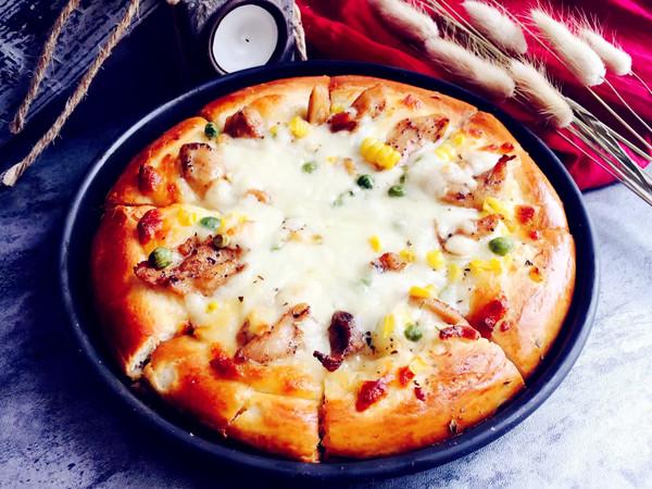 黑椒鸡腿披萨怎样炒