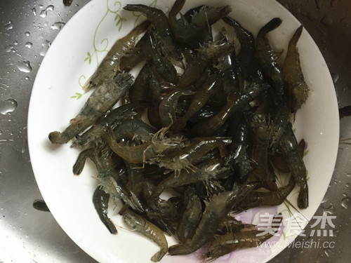 河虾烧酱的做法图解
