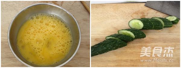 黄瓜炒鸡蛋的做法图解