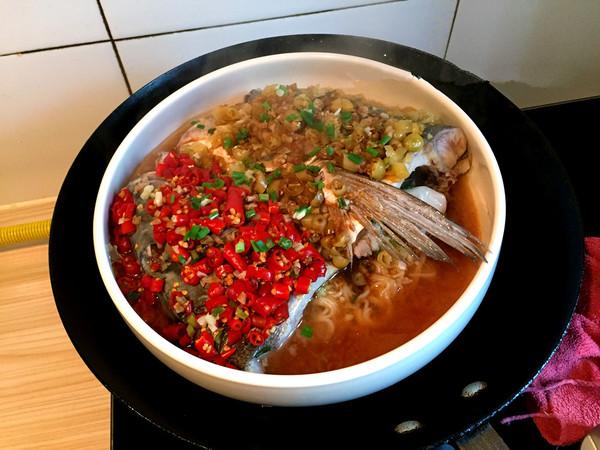 美食DIY——剁椒鱼头