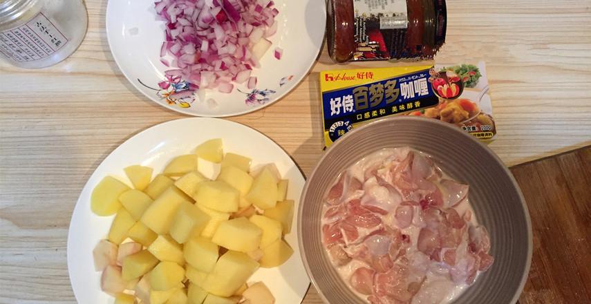 肉最嫩的咖喱土豆鸡肉饭的做法大全