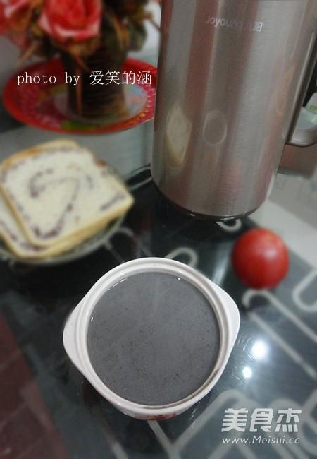 红枣黑芝麻米糊成品图