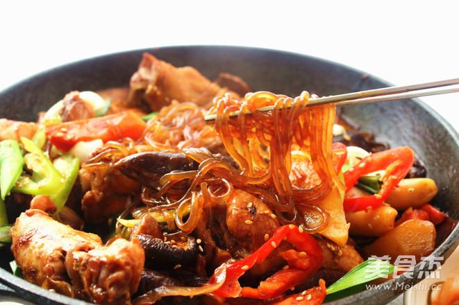 韩式安东炖鸡成品图