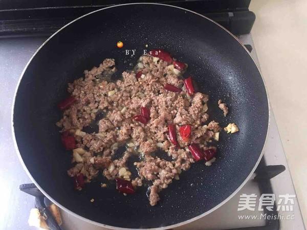 毛豆炒肉末怎么吃