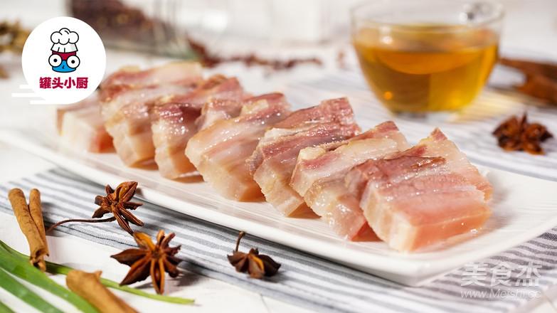 无添加安心腌咸肉成品图