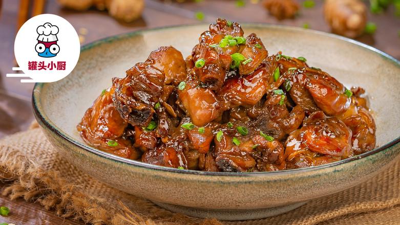 中餐厅同款麻油沙姜鸡成品图