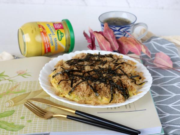 日式煎饼大阪烧成品图