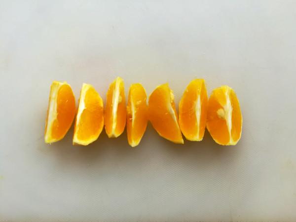 雪梨橙汁的做法图解