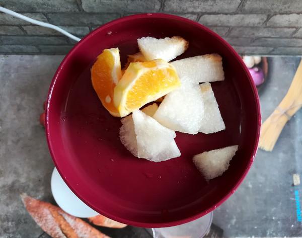 雪梨橙汁的简单做法
