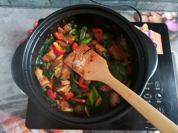 川味回锅肉的制作