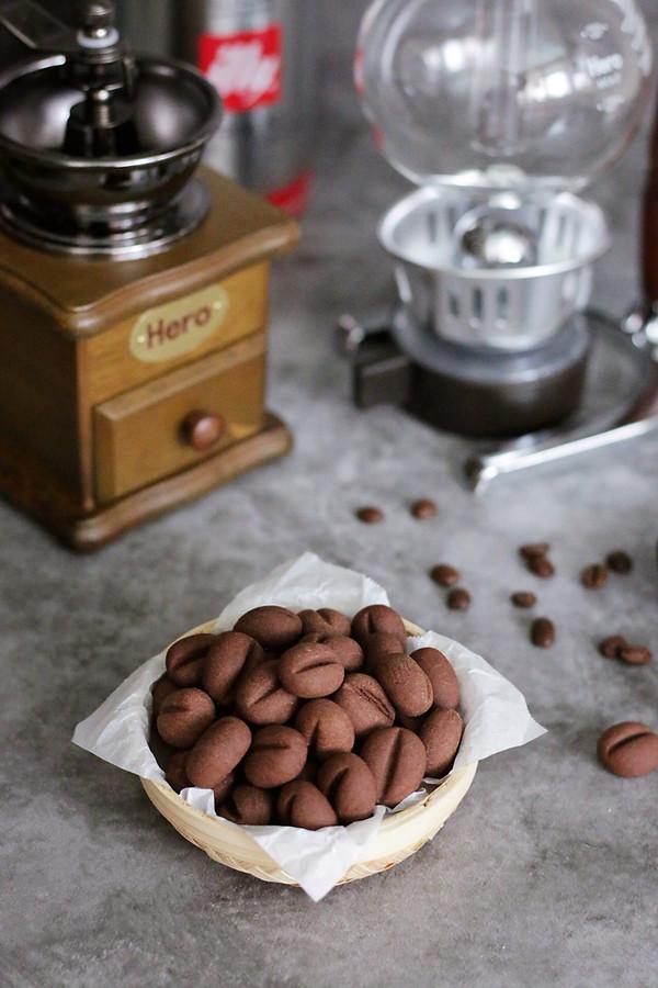 咖啡豆小饼干成品图
