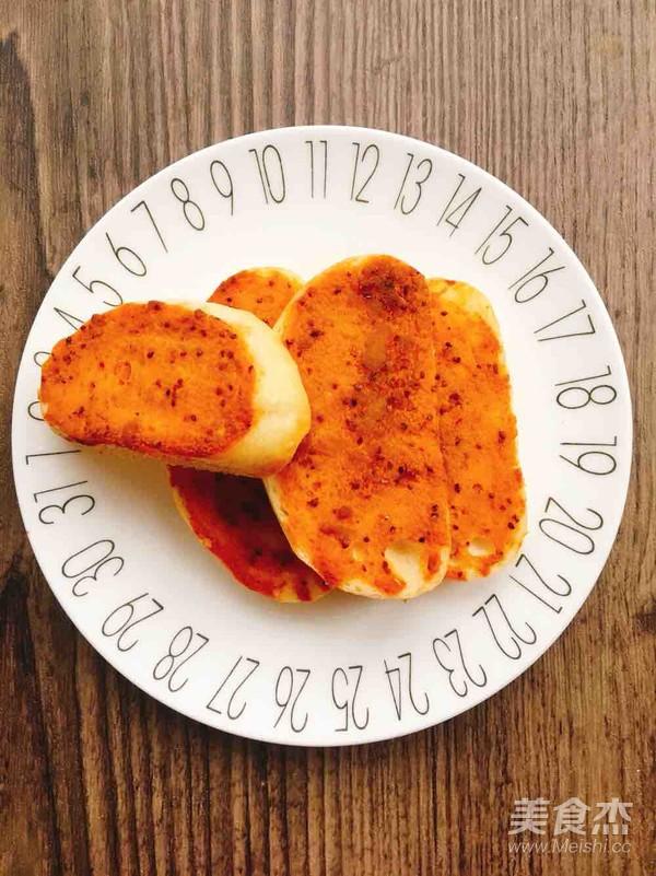 腐乳烤馒头片成品图