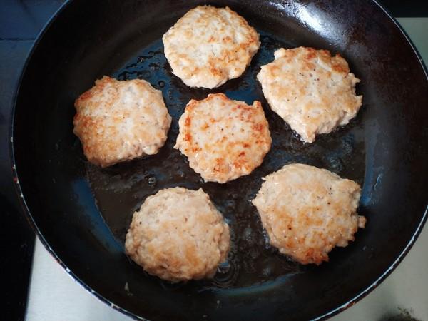 全麦馒头鸡肉汉堡(附送超完美鸡肉饼配方)怎么做