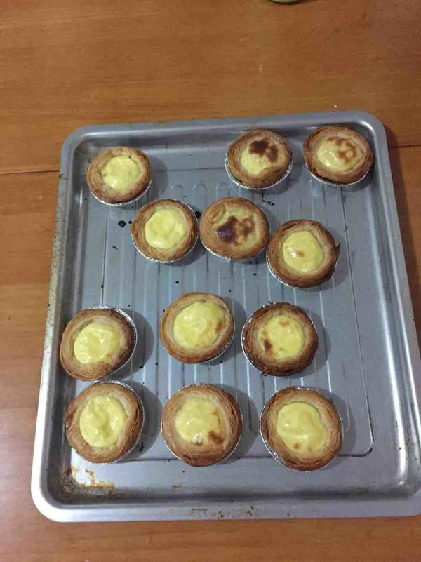 无奶油的蛋挞成品图