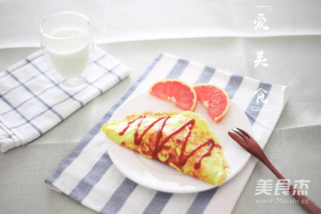 日式蛋包饭成品图