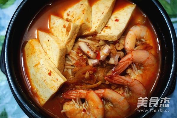 韩式海鲜锅怎么炖