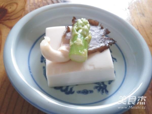 凉拌菌菇豆腐怎么炒