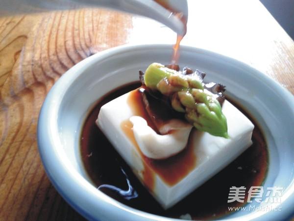凉拌菌菇豆腐怎么煮