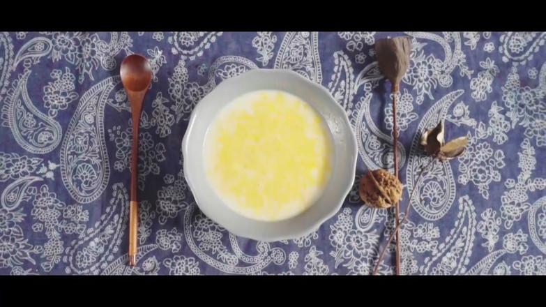 南瓜鸡蛋羹,连宝宝都能喝的养生佳品~成品图