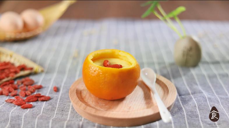 【香橙蒸蛋】成品图
