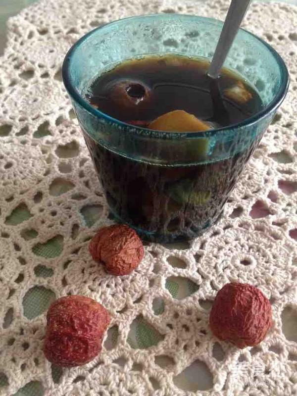 超简单的缓解痛经的姜茶成品图