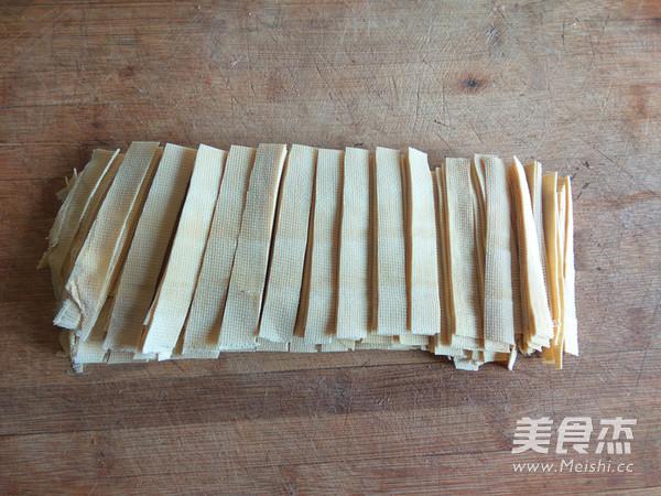 家常尖椒干豆腐的做法图解