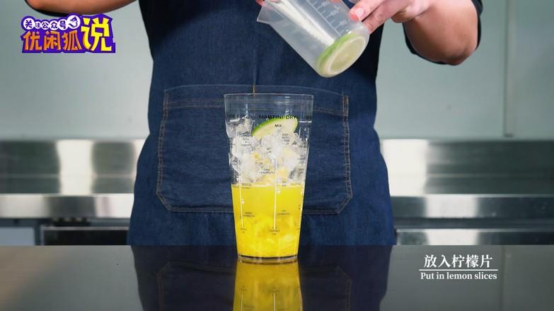 自制酸甜清爽水果茶,菠萝香柠四季春怎么做