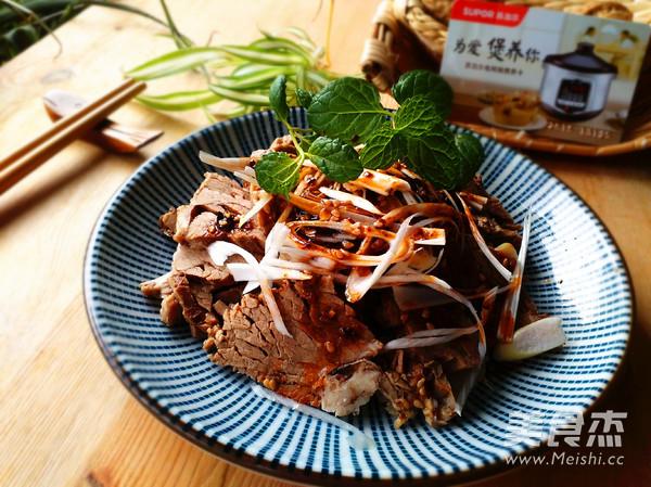 苏泊尔-凉拌麻辣牛肉成品图