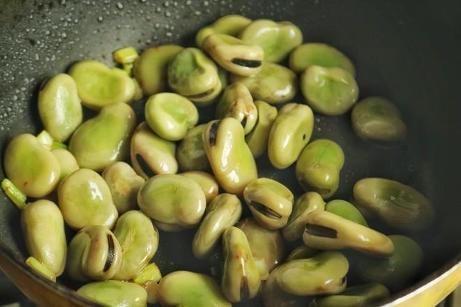 孜然蚕豆怎么吃