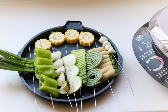 烤蔬菜全家福的做法图解