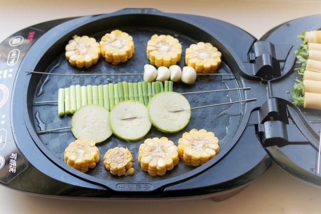 烤蔬菜全家福的简单做法