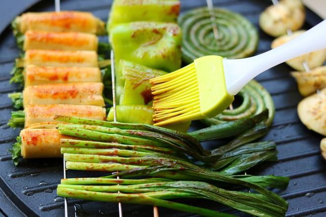 烤蔬菜全家福怎么做