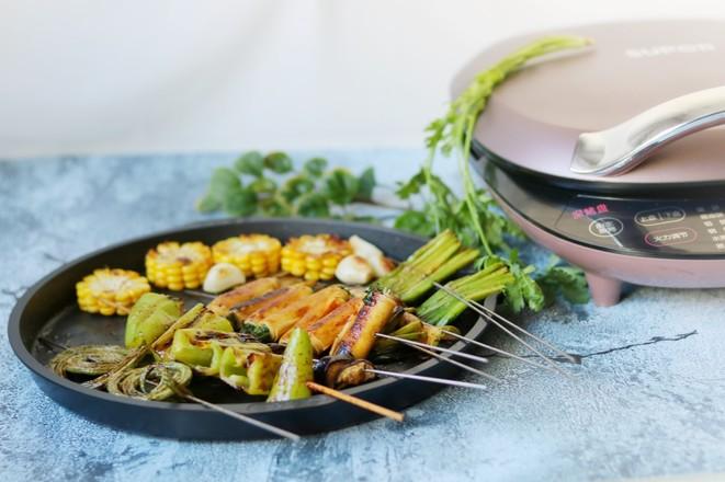 烤蔬菜全家福成品图