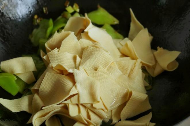 尖椒干豆腐怎么煮
