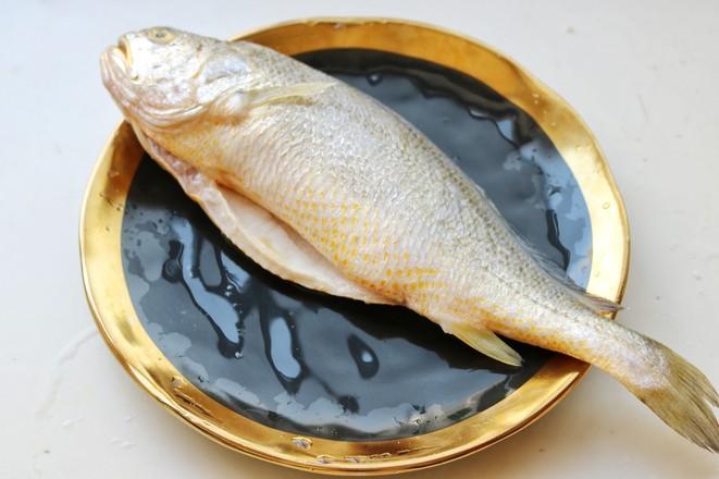 葱油黄花鱼的做法图解