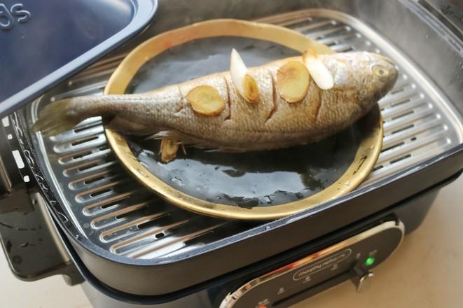 葱油黄花鱼怎么吃
