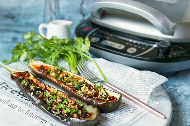 韩式酱烤茄子成品图
