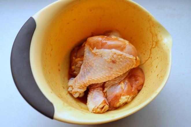 蜜汁烤鸡腿的家常做法